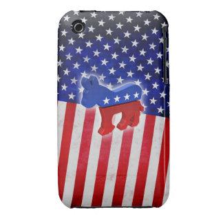 Burro Democratic iPhone 3 Cobreturas