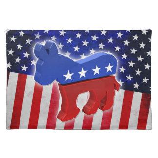 Burro Democratic Manteles Individuales
