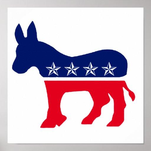 Burro Democratic Posters