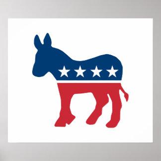 Burro Democratic Poster