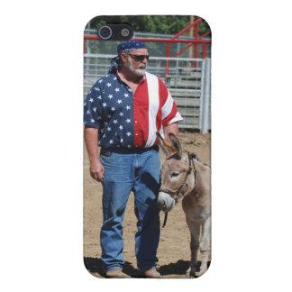 burro en clase con tirante y espalda descubierta iPhone 5 carcasa