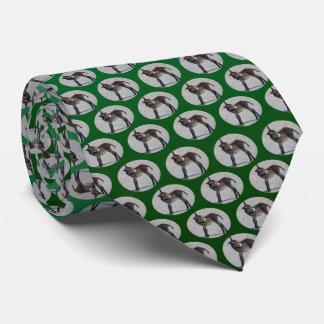 Burro Frenzy Tie (Light/Dark Green)
