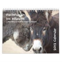 Burro & Horse Calendar