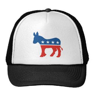 burro los E.E.U.U. del fiesta del demócrata de los Gorros