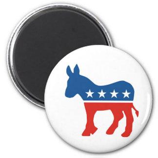 burro los E.E.U.U. del fiesta del demócrata de los Imán Redondo 5 Cm