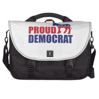 Burro orgulloso de Demócrata Bolsas Para Ordenador