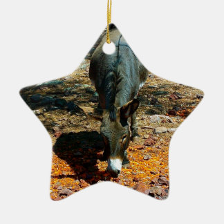 burro ornamento de reyes magos