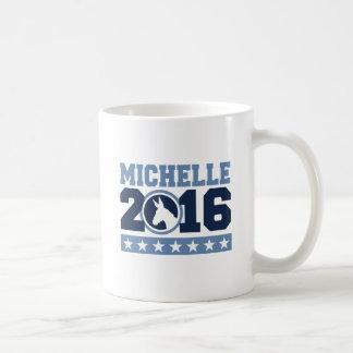 BURRO REDONDO DE MICHELLE 2016 - .PNG TAZA BÁSICA BLANCA