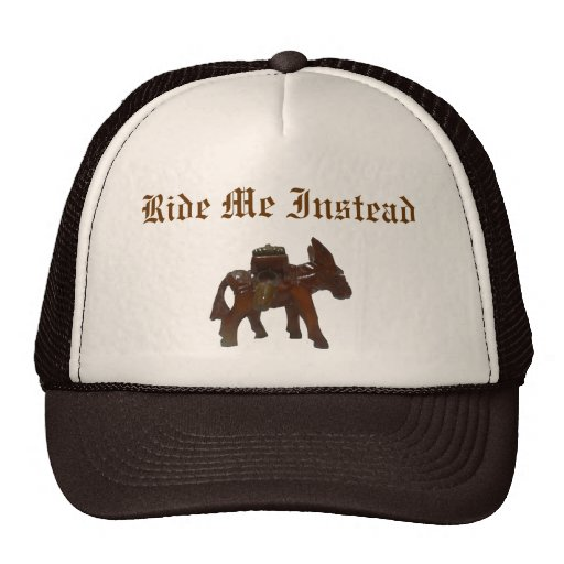 Burro, Ride Me Instead Mesh Hats