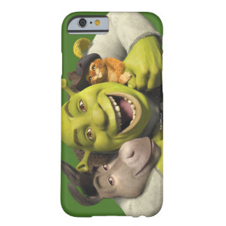 Burro, Shrek, y Puss en botas Funda Para iPhone 6 Barely There