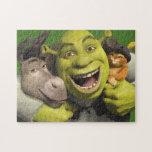 Burro, Shrek, y Puss en botas Puzzles