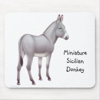 Burro siciliano miniatura Mousepad