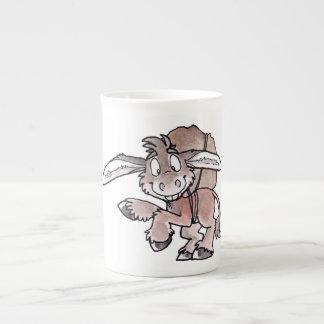 Burro Tazas De Porcelana