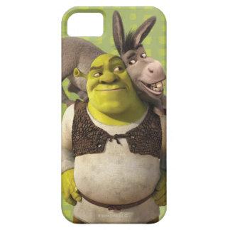 Burro y Shrek iPhone 5 Cárcasas