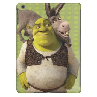 Burro y Shrek Funda Para iPad Air