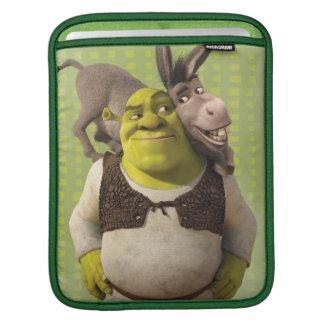 Burro y Shrek Funda Para iPads