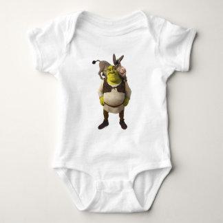 Burro y Shrek Playeras