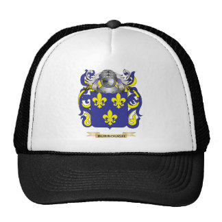 Burrough Coat of Arms (Family Crest) Trucker Hats