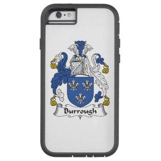 Burrough Family Crest Tough Xtreme iPhone 6 Case