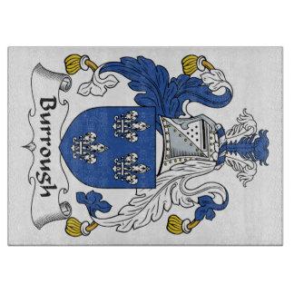 Burrough Family Crest Cutting Board