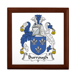 Burrough Family Crest Gift Boxes