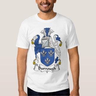 Burrough Family Crest T-shirt