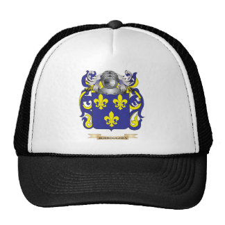 Burroughes Coat of Arms (Family Crest) Trucker Hats