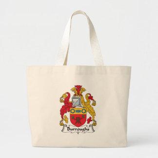 Burroughs Family Crest Bag