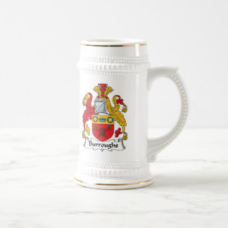Burroughs Family Crest Coffee Mug