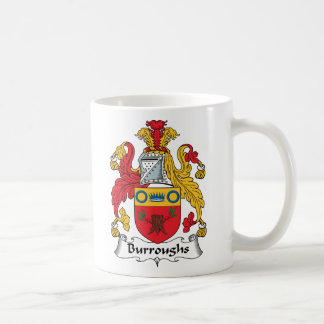 Burroughs Family Crest Mugs