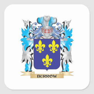 Burrow Coat of Arms Square Sticker