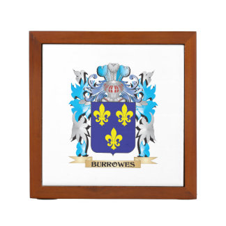 Burrowes Coat of Arms Pencil/Pen Holder