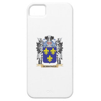 Burrowes Coat of Arms - Family Crest iPhone 5 Cover