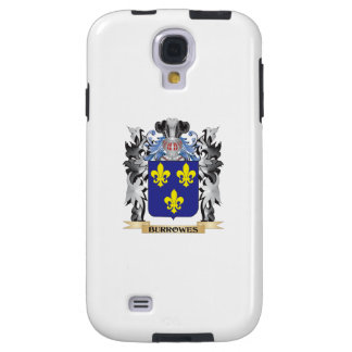 Burrowes Coat of Arms - Family Crest Galaxy S4 Case