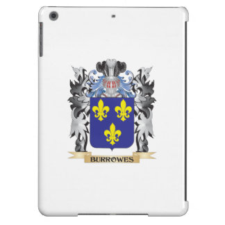 Burrowes Coat of Arms - Family Crest Case For iPad Air