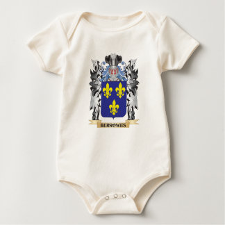 Burrowes Coat of Arms - Family Crest Baby Bodysuit