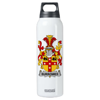Burrowes Family Crest Insulated Water Bottle