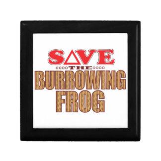 Burrowing Frog Save Gift Box