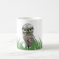 Burrowing Owl Artwork Coffee Mug