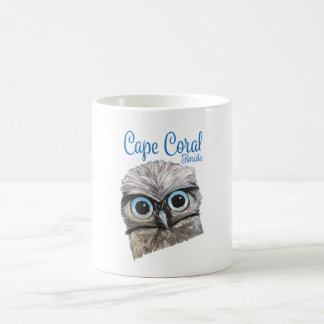 Burrowing Owl Artwork Coffee Mug