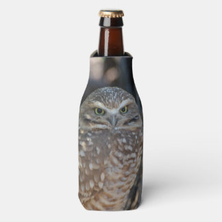 Burrowing Owl Bottle Cooler