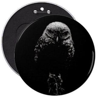 'Burrowing Owl' Button