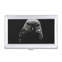 'Burrowing Owl' Case For Business Cards