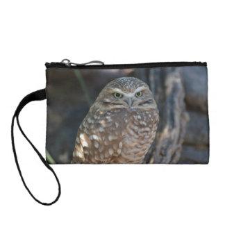 Burrowing Owl Change Purse