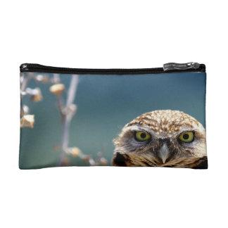 Burrowing Owl Cosmetic Bag