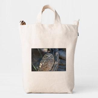 Burrowing Owl Duck Bag