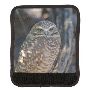 Burrowing Owl Luggage Handle Wrap
