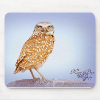 Burrowing Owl Mouse Pad