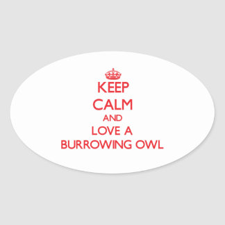 Burrowing Owl Stickers