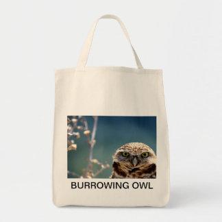 Burrowing Owl Tote Bag